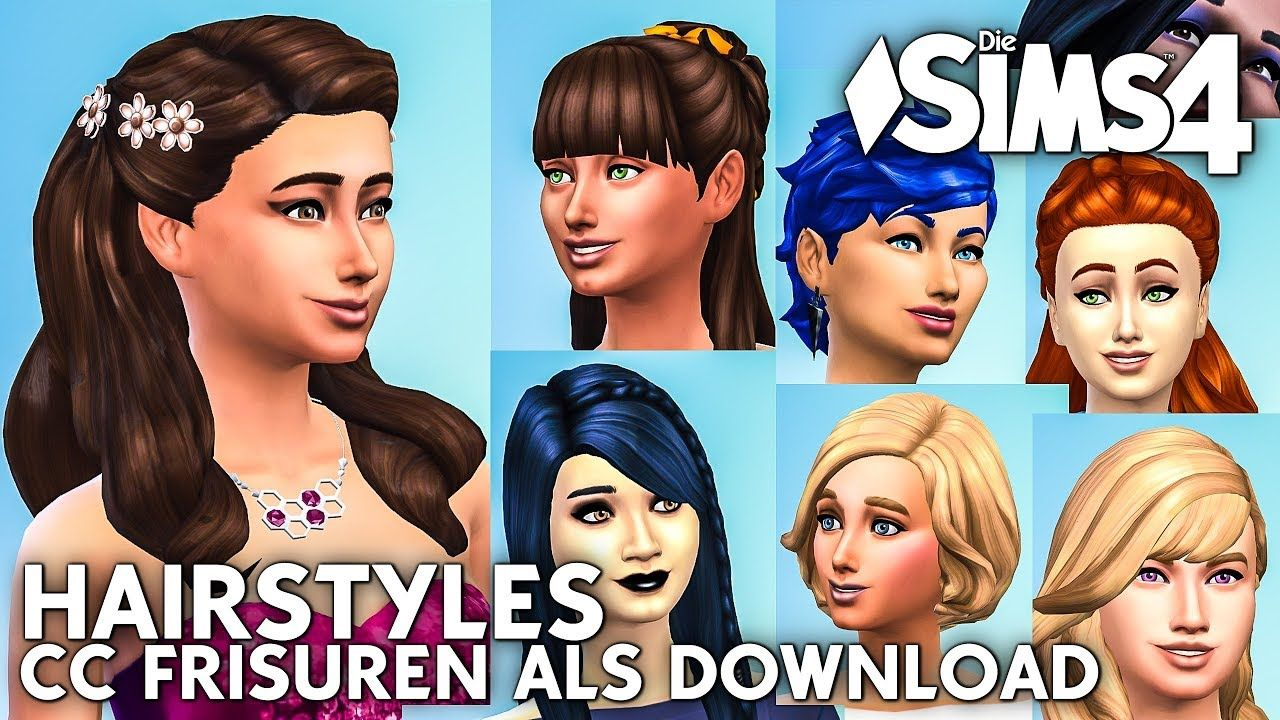 Einfach Sims 4 Frisuren Mods Womens Hairstyles Hair Styles Stylish Hair
