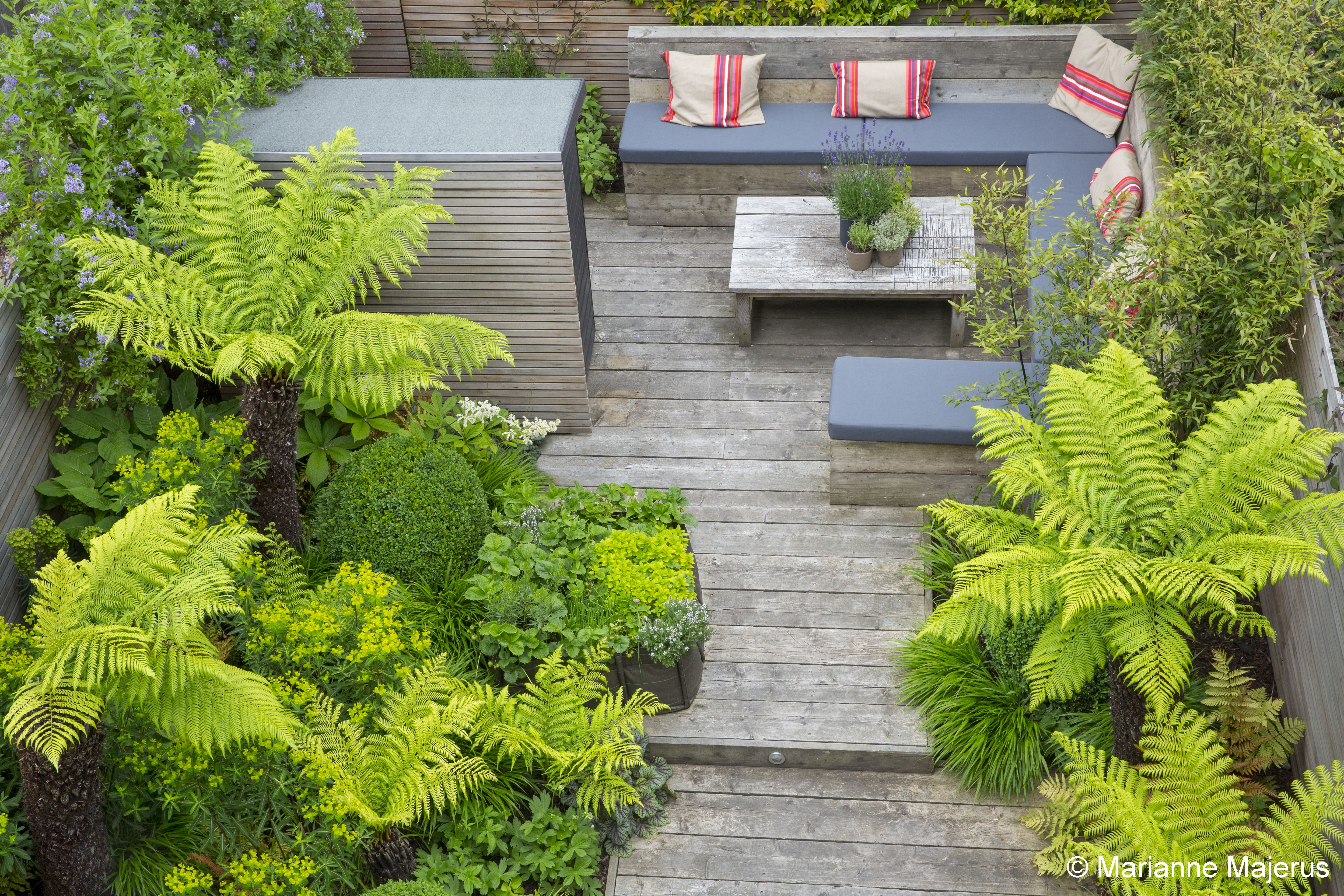 garden design for a small space in london