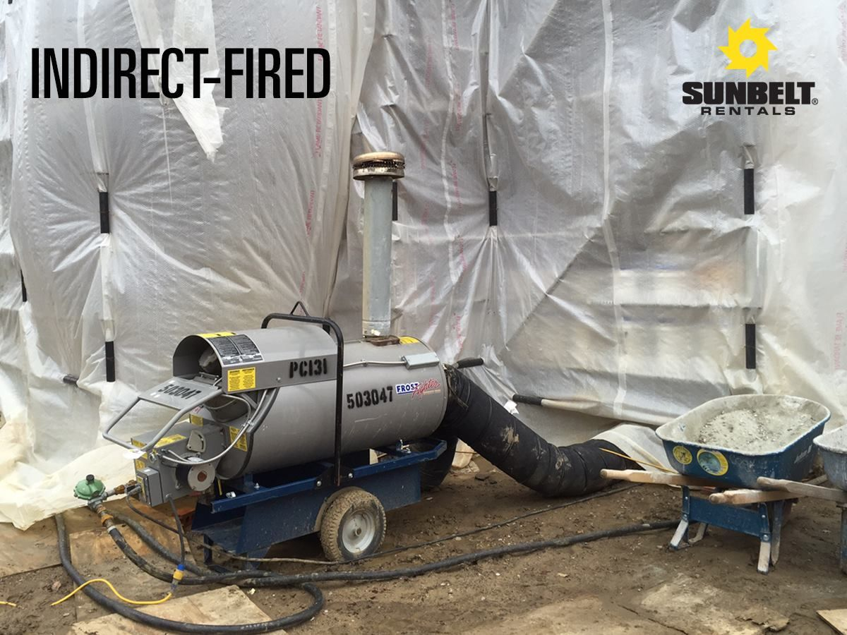 Need heat? Indirectfired equipment utilizes heat