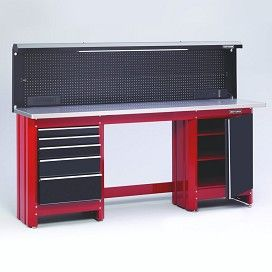 Craftsman Work Bench Create Your Own Style Http Www Sears Com Craftsman 6 Workbench Red P 0091013 Garage Design Craftsman Tools Garage Garage Work Bench
