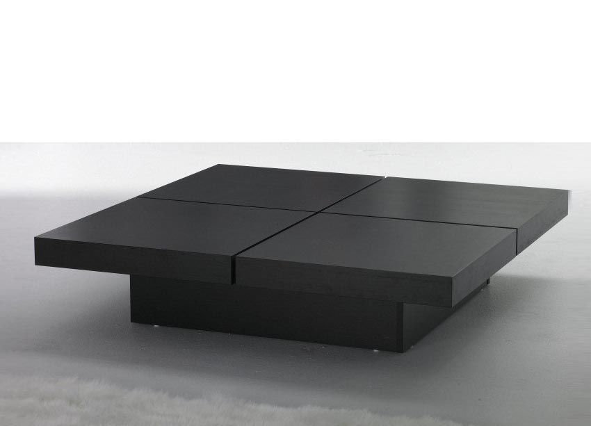 Large Black Coffee Table More