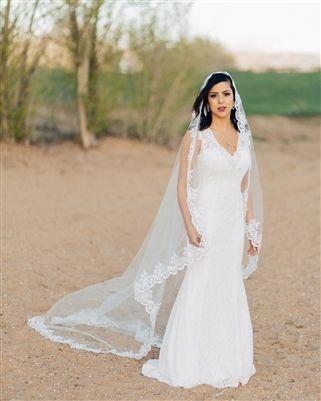 Love Her Lace Wedding Veil 70So Beautiful
