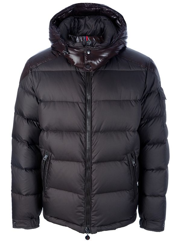 f3b04ff6d Moncler Chevalier Hooded Down Jacket Men Deep Grey $245 | Moncler ...