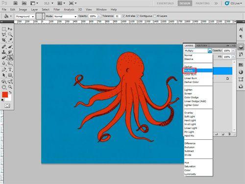 Tutorial: Cómo colorear ilustraciones en Photoshop