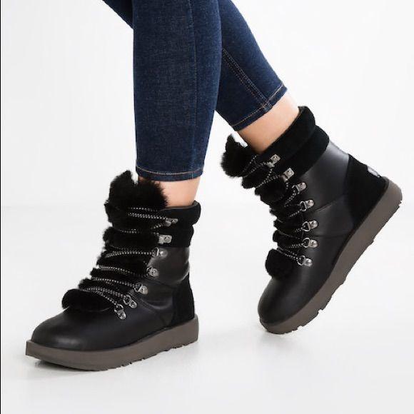 Ugg Viki Waterproof Black Boots | Boots