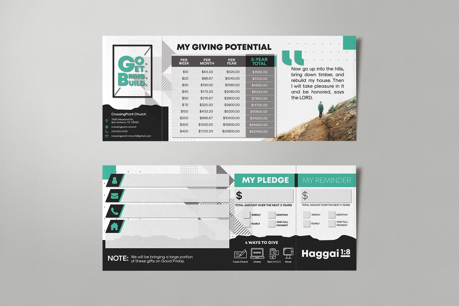 Pledge Cards Commitment Cards Church Campaign Design Pertaining To Pledge Card Template For Ch Business Template Card Template Free Business Card Templates