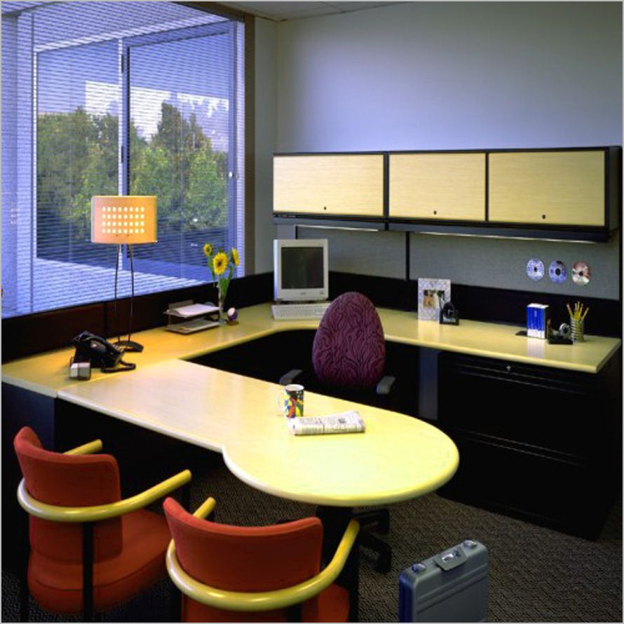 The Small Office Interior Design Picture Photo The Small