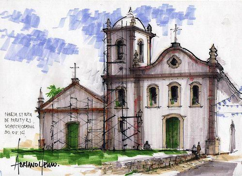 Igreja de St Rita Paraty RJ