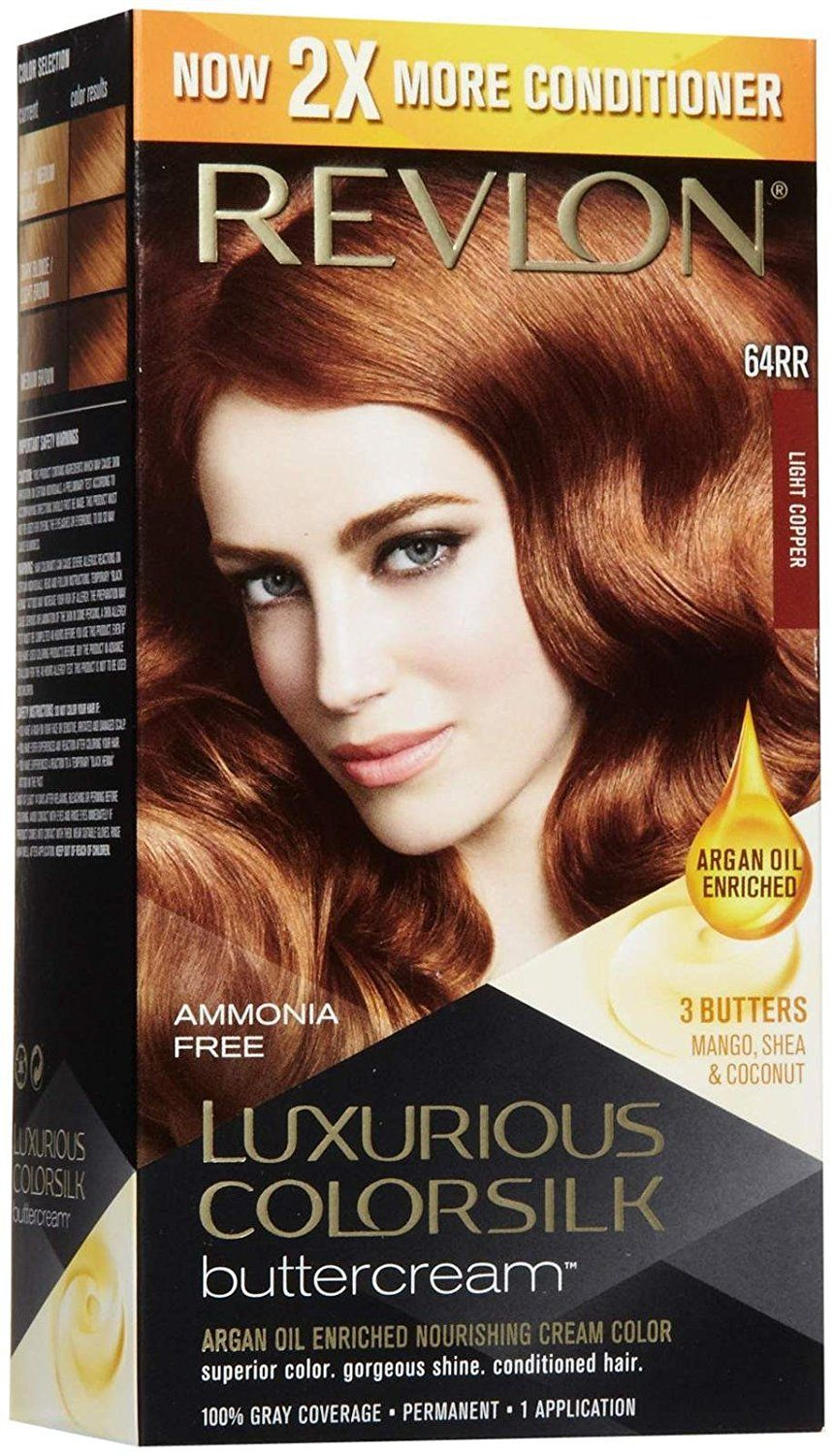 Revlon Colorsilk Luxurious Ercream Hair Color Light Copper Oz Be Sure To Check