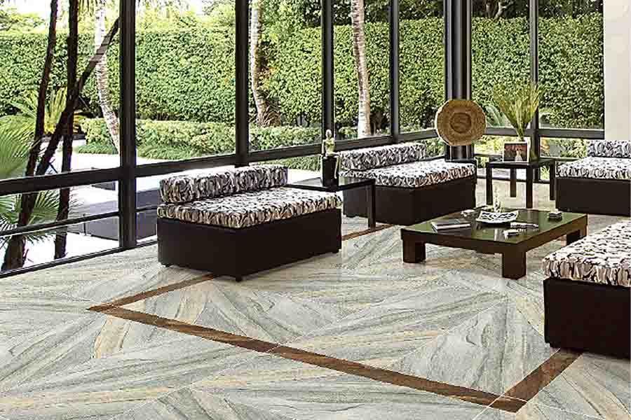 Granite Effect Large Format And Ultra Thin Porcelain Floor Tiles