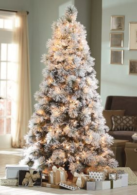new style aa882 3ea43 Biltmore For Your Home 7.5-ft. Flocked Christmas Tree ...