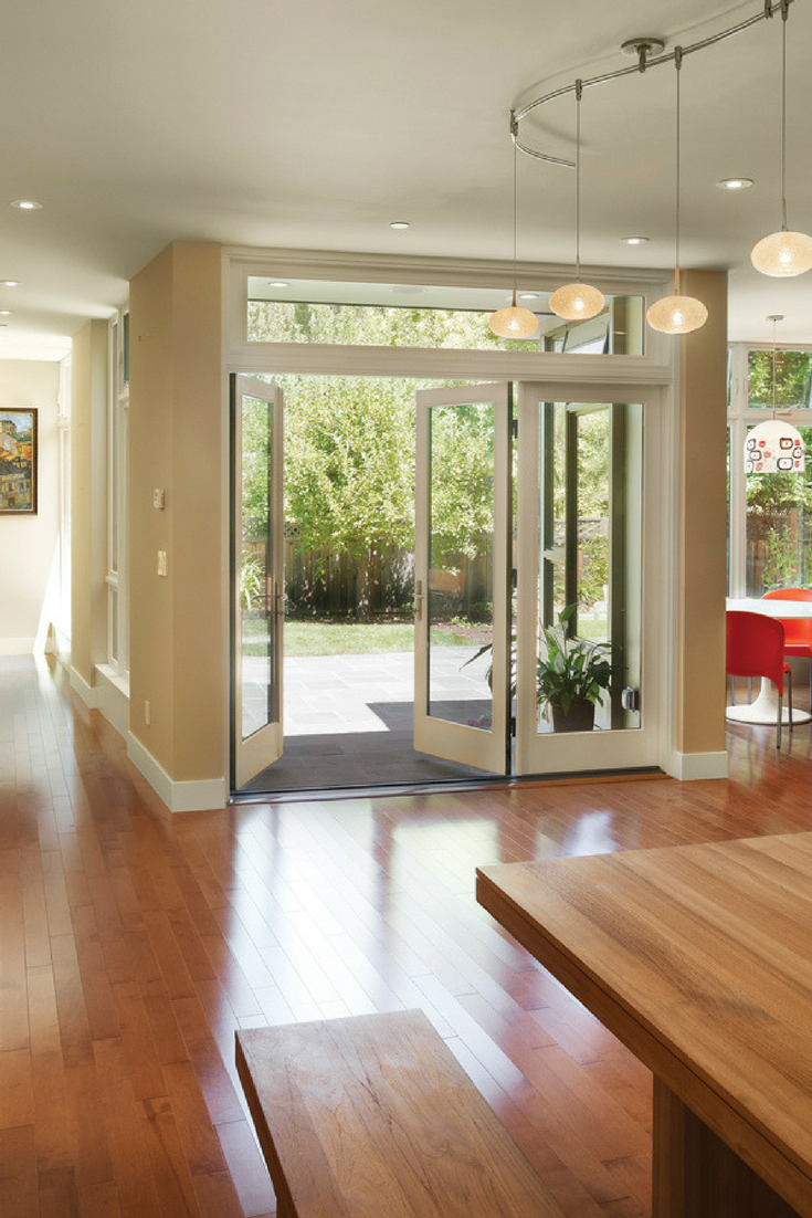 Open Up To The Backyard With Patio Doors Featuring Ultra