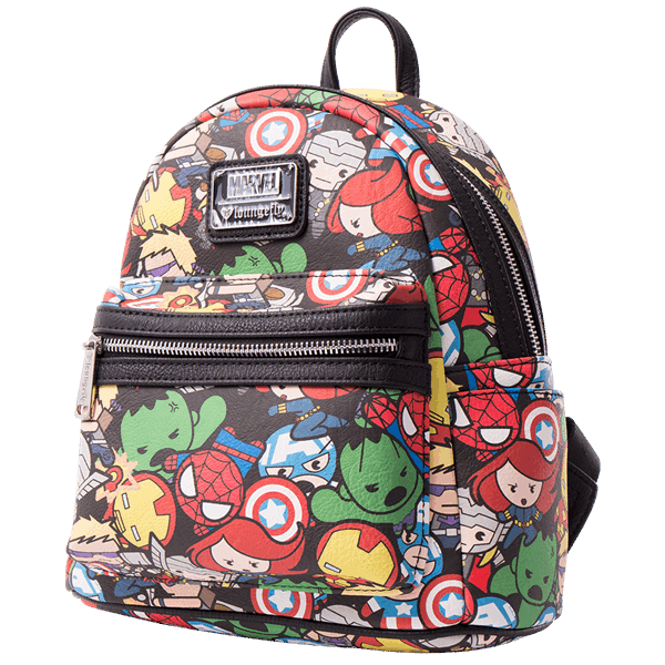 Marvel - The Avengers Kawaii Loungefly Mini Backpack - ZiNG Pop Culture 045533d25ea71