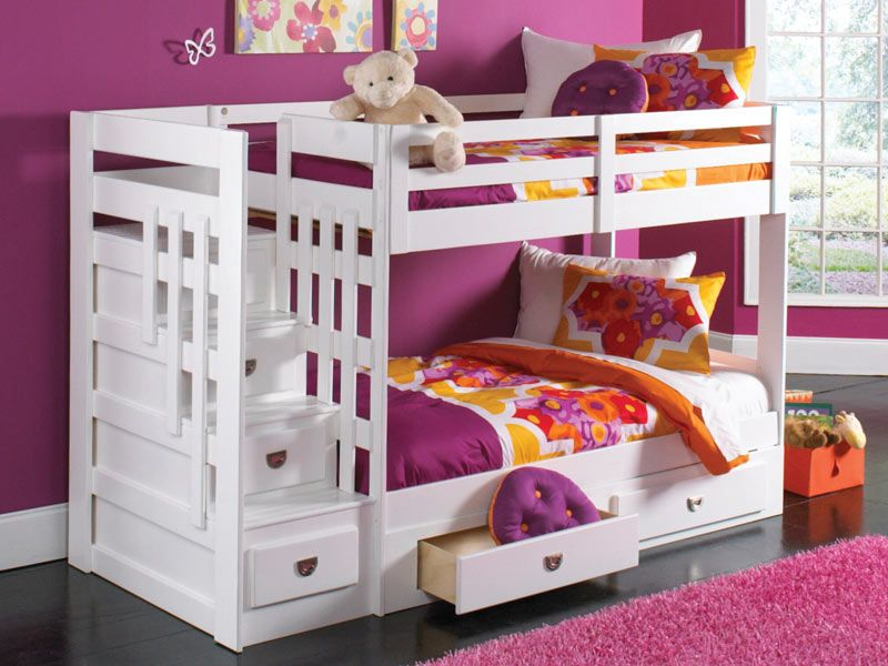 want to get this bed for the girlu0027s room malibu staircase bunk bed