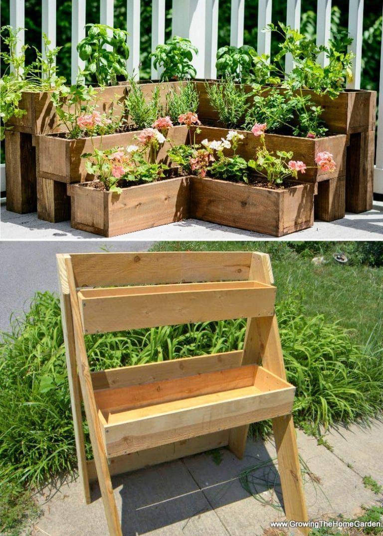 raised planter boxes on legs in 2020 Vegetable garden