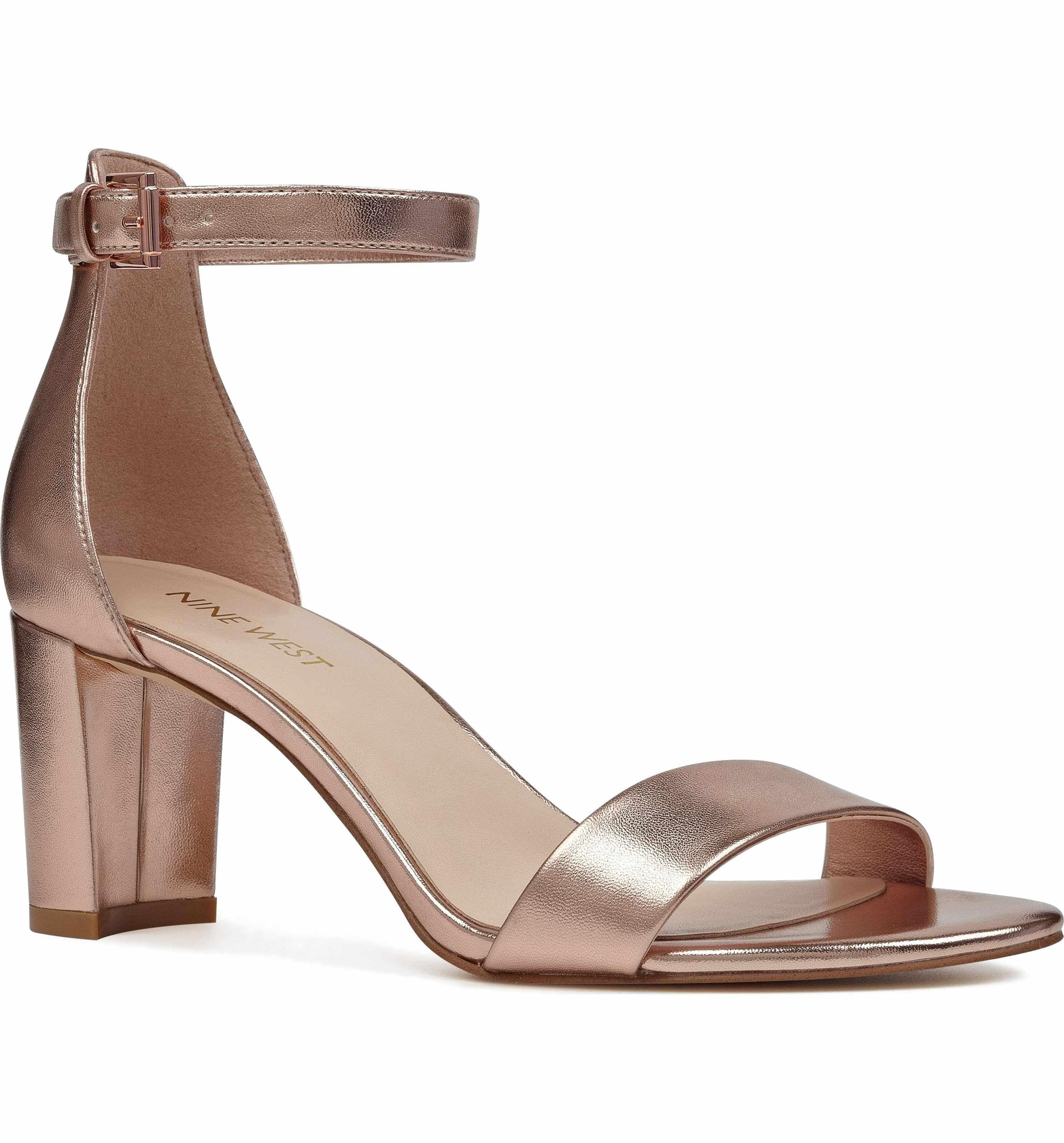 5cd70e7d833 Main Image - Nine West Pruce Ankle Strap Sandal (Women)
