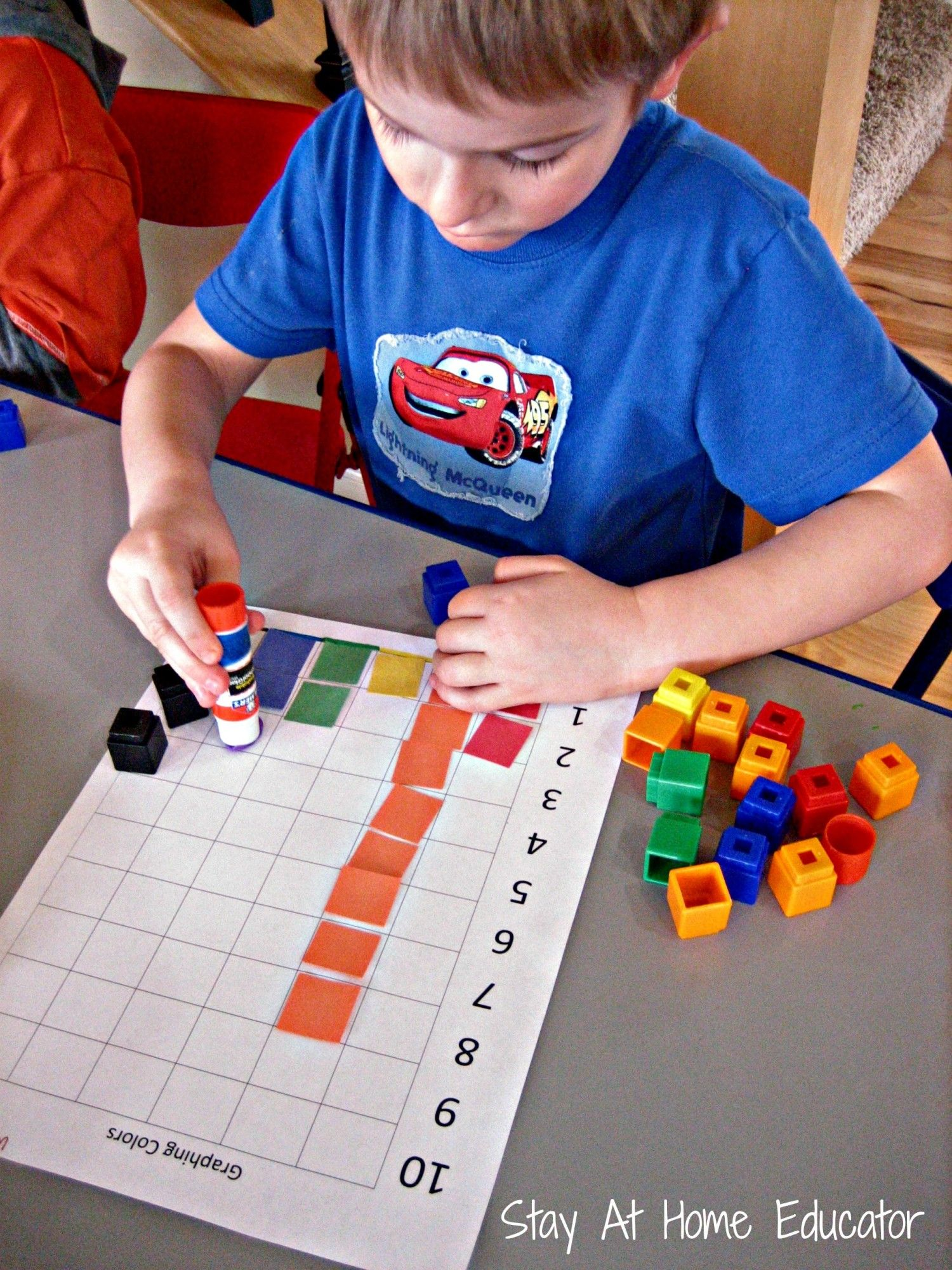 Graphing With Preschoolers