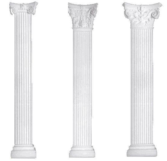 Pilaster- Zuil die niet vrijstaand is maar gedeeltelijk uit de achtergrond komt.