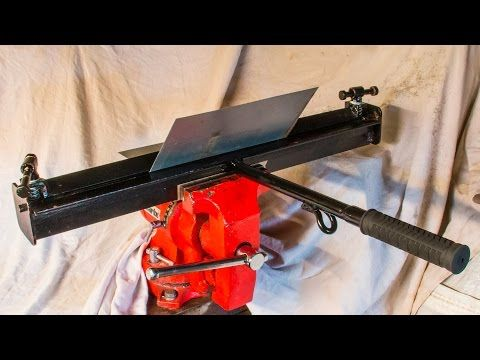 Metal Working Making Dremelathe Small Rotary Tool Powered Lathe Part 1 Workstation Part 2 Youtube Sheet Metal Brake Sheet Metal Metal Bending Tools