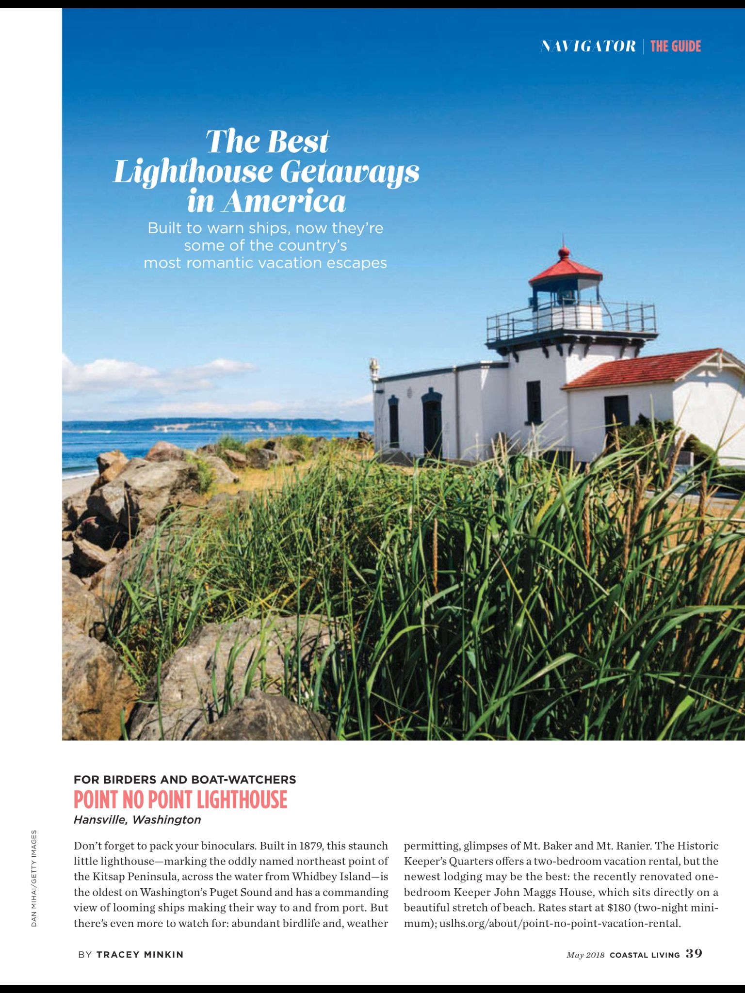 The Best Lighthouse Getaways In America From Coastal Living May 2018 Read It On Texture Unlimited Access To 200 Top Magazines