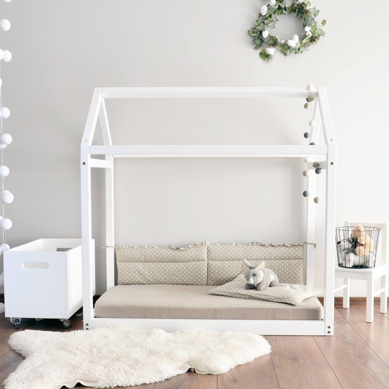 Floor Bed Frame House Diy Beds Full