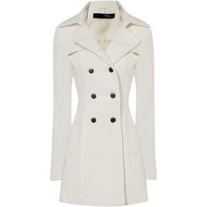 White Fitted Flare Coat - Jane Norman - Doh! Sold out?!?! Needed ...