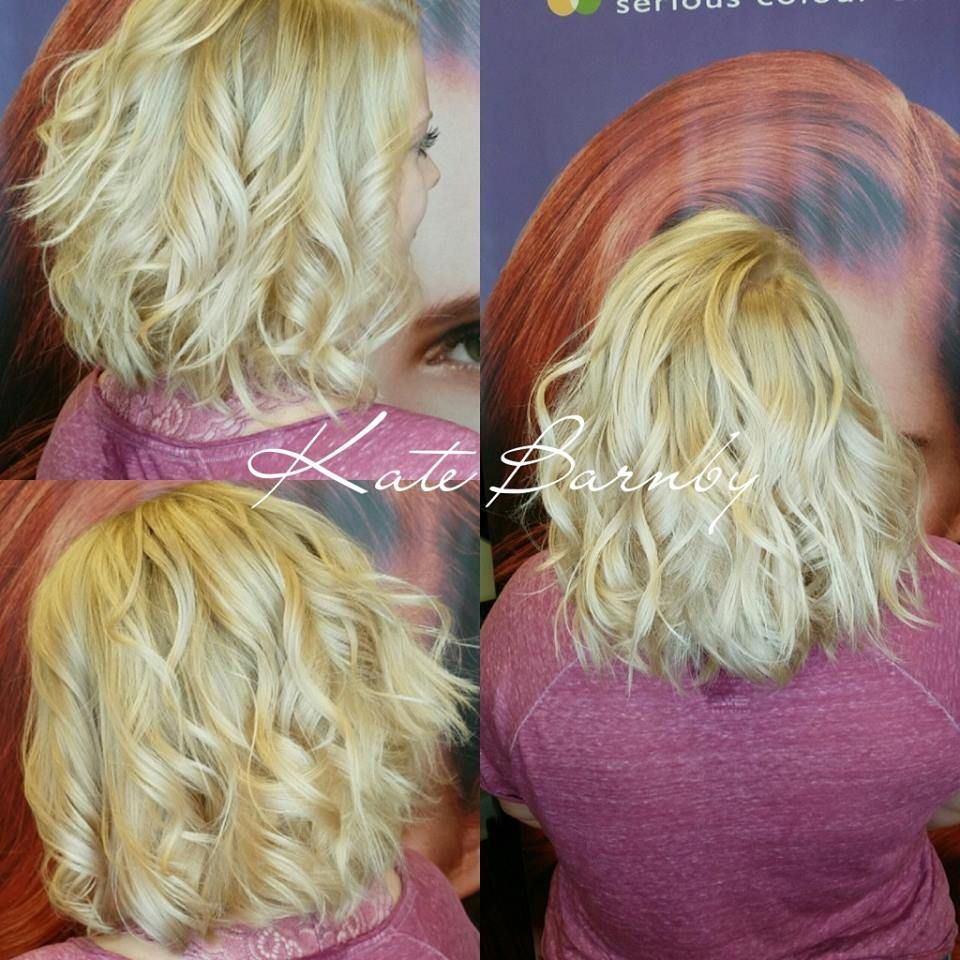 Some beautiful babylights on Alivia!  Get your new color at Edge with Kate; reserve today at (330) 477-2300 or visit http://www.edgehairdesign.com