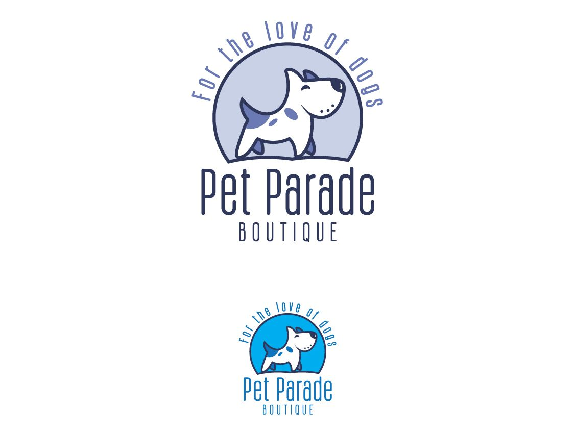 Pet Parade Boutique Pet Parade Animal Logo Pets