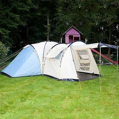 #Skandika toronto 6 #person/man family dome c&ing tent large #group canopy & Skandika toronto 6 #person/man family dome camping tent large ...