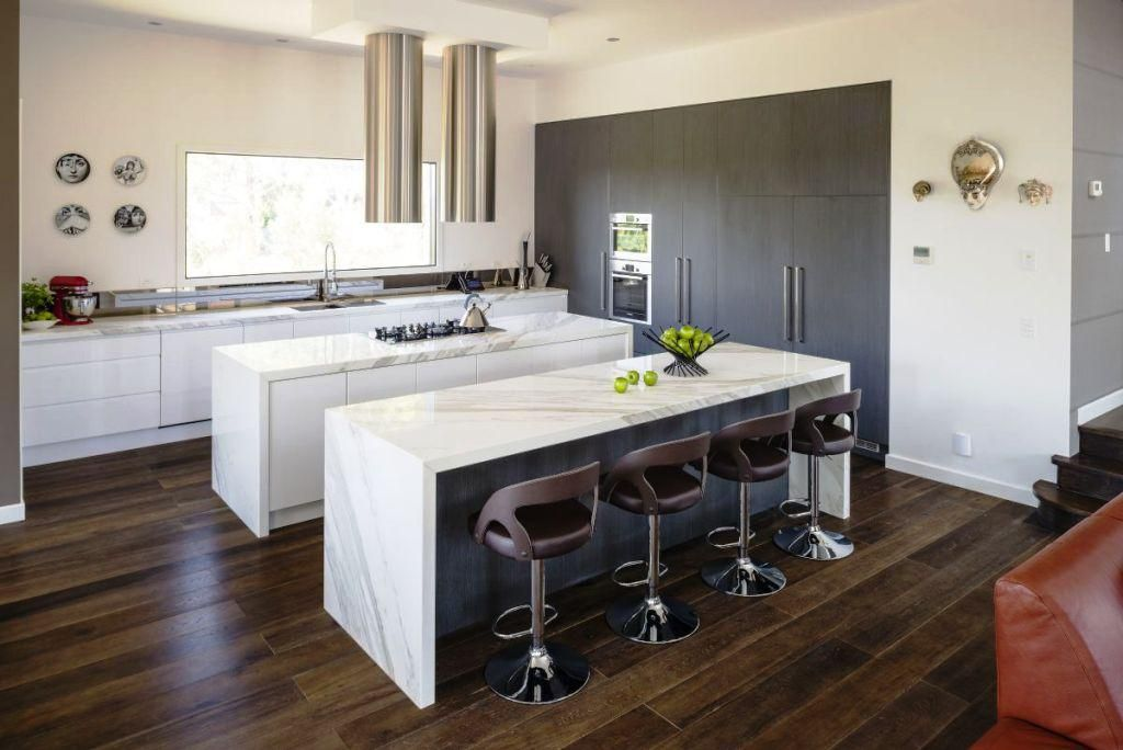 Custom Contemporary Kitchen Islands — Aio Contemporary Styles Captivating Modern Kitchen Island Design Inspiration