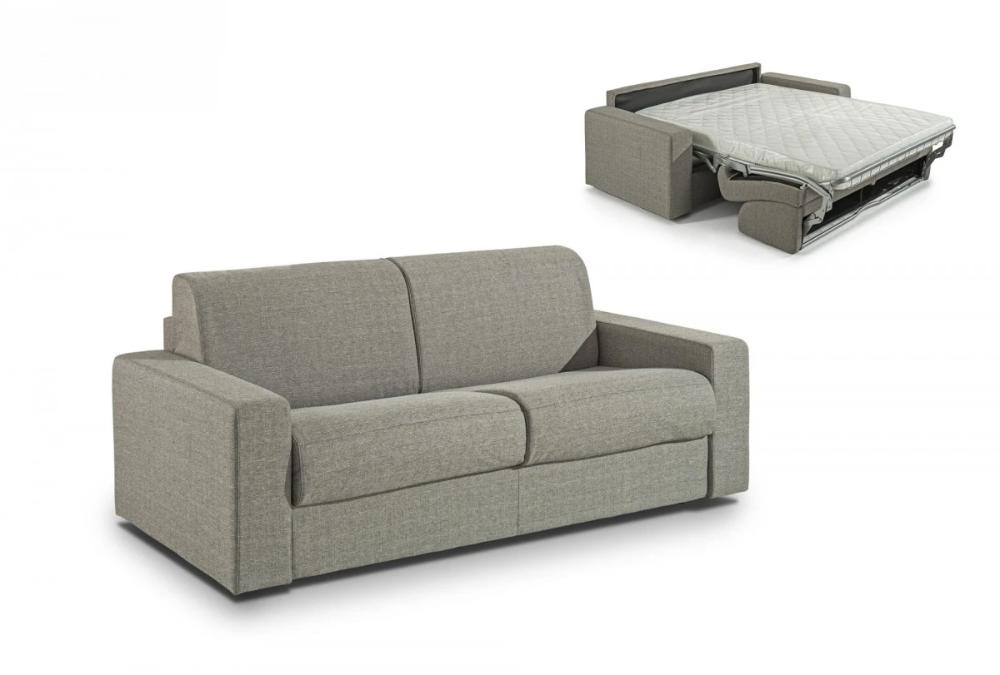 Modrest Made In Italy Urrita Modern Gray Fabric Sofa Bed W Full Siz Modernlivingdecor In 2020 Fabric Sofa Bed Blue Fabric Sofa Grey Fabric Sofa