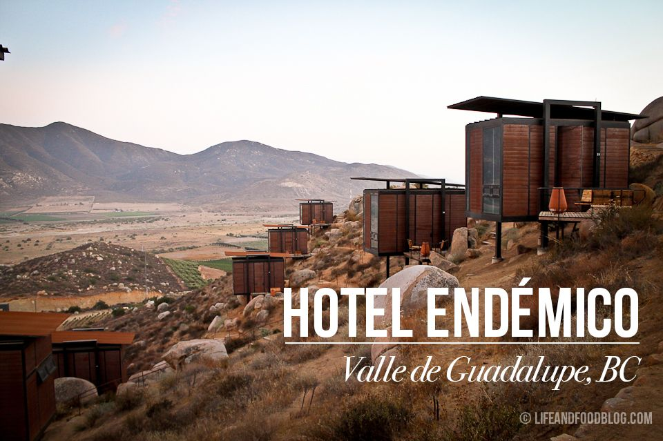 Hotel Endémico In Valle De Guadalupe Baja California Ecolofts Mexico