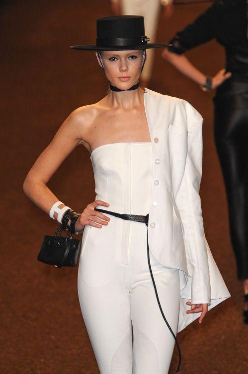 lelaid: Frida Gustavsson at Hermès S/S 2011