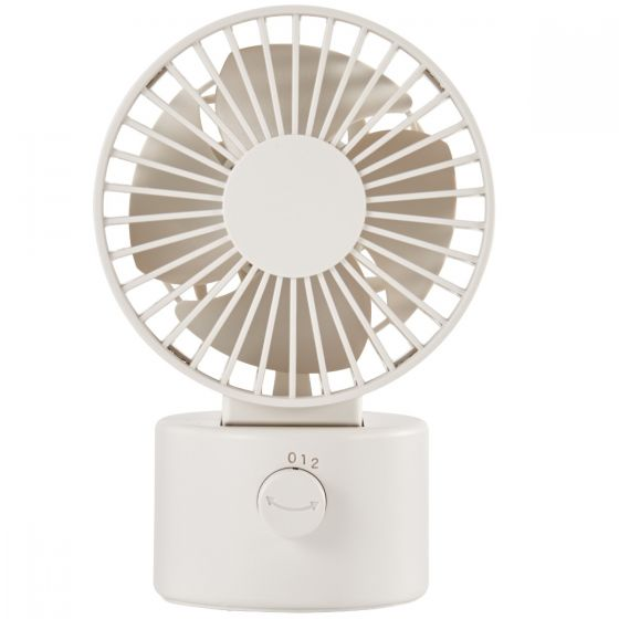 Low Noise Usb Desk Fan Swing Type White Desk Fan Mini Desk Fan Muji Online Store