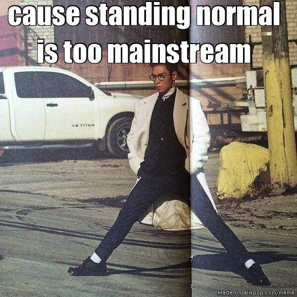 omg TOP let me chill with you standing in that parking lot like that