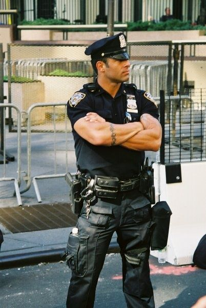 Gay Muscle Cop