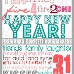 Photo of Friday Freebies. 20 New Years Eve Party Printables and Recipe