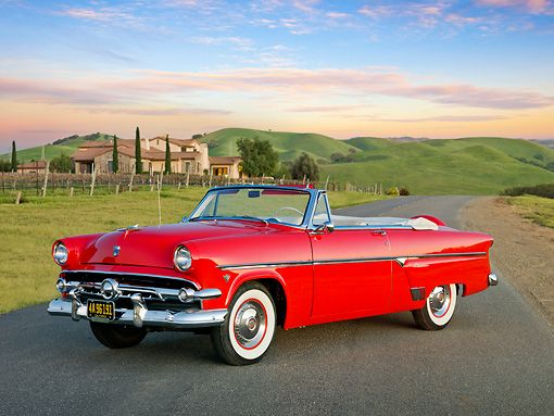 1954 ford convertible pictures