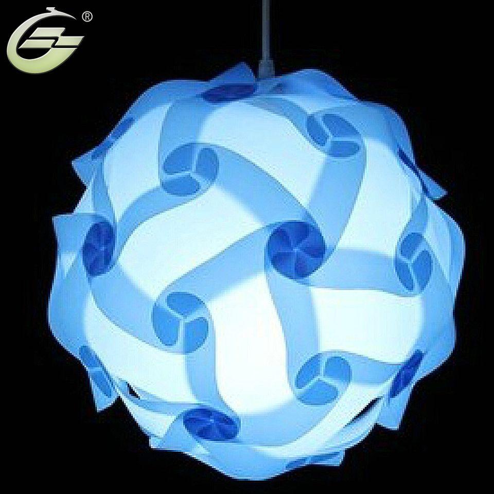 Beautiful Iq Light Jigsaw Lamp Puzzle Pendant Lampe Size 25cm 30cm 40cm Ysliqsb Free Shipping Pendant Light Design Hanging Pendant Lamp Lamp
