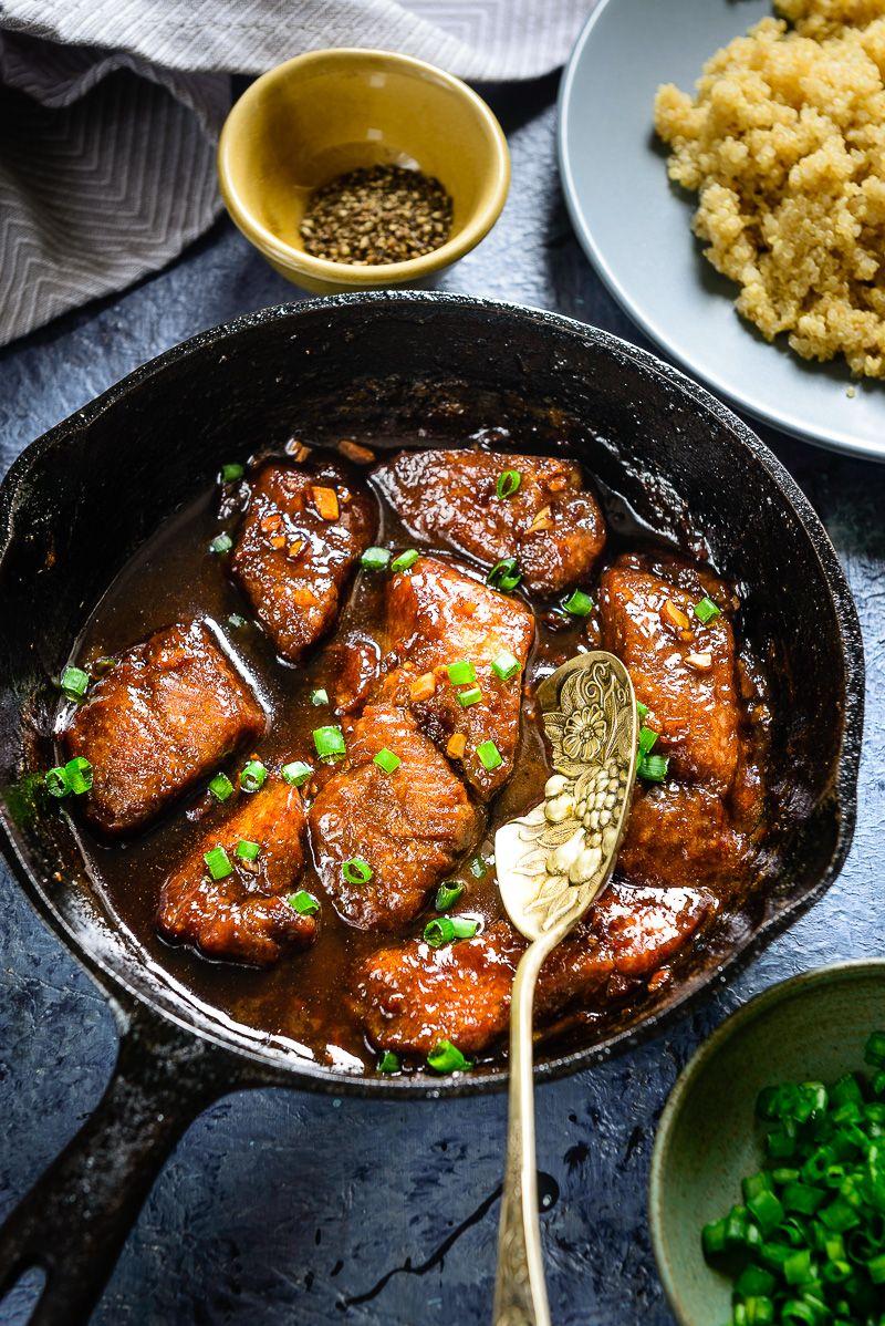 Honey Garlic Fish