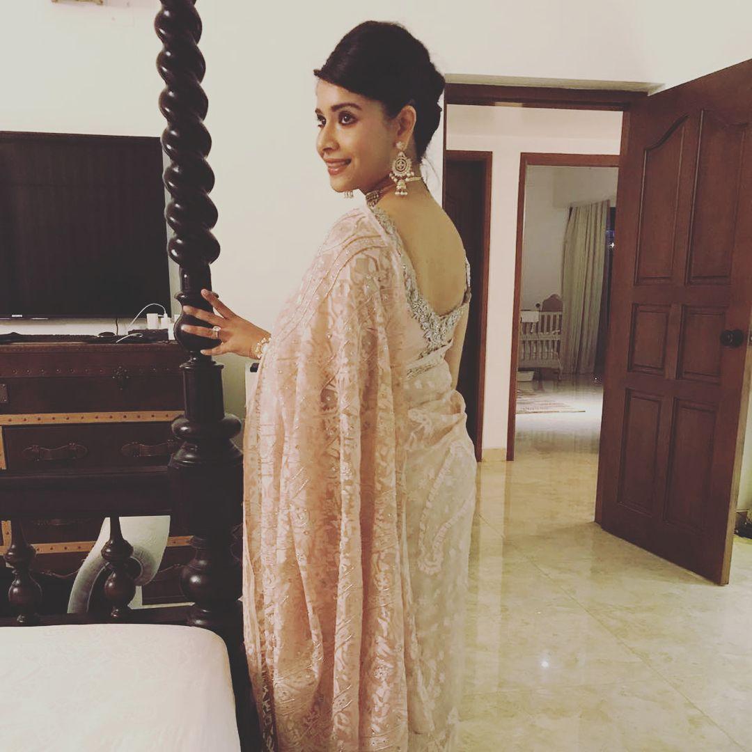 Dhaka jamdani sari from reelaus indian fashion pinterest