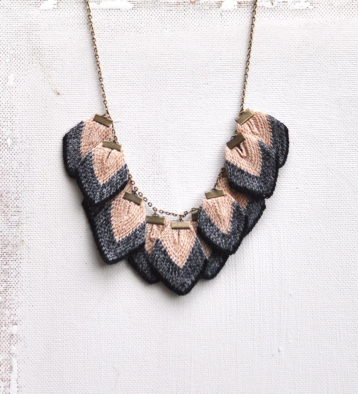 Petali necklace | Amy Lawrence | Jewelry | Pinterest | Best Knit ...