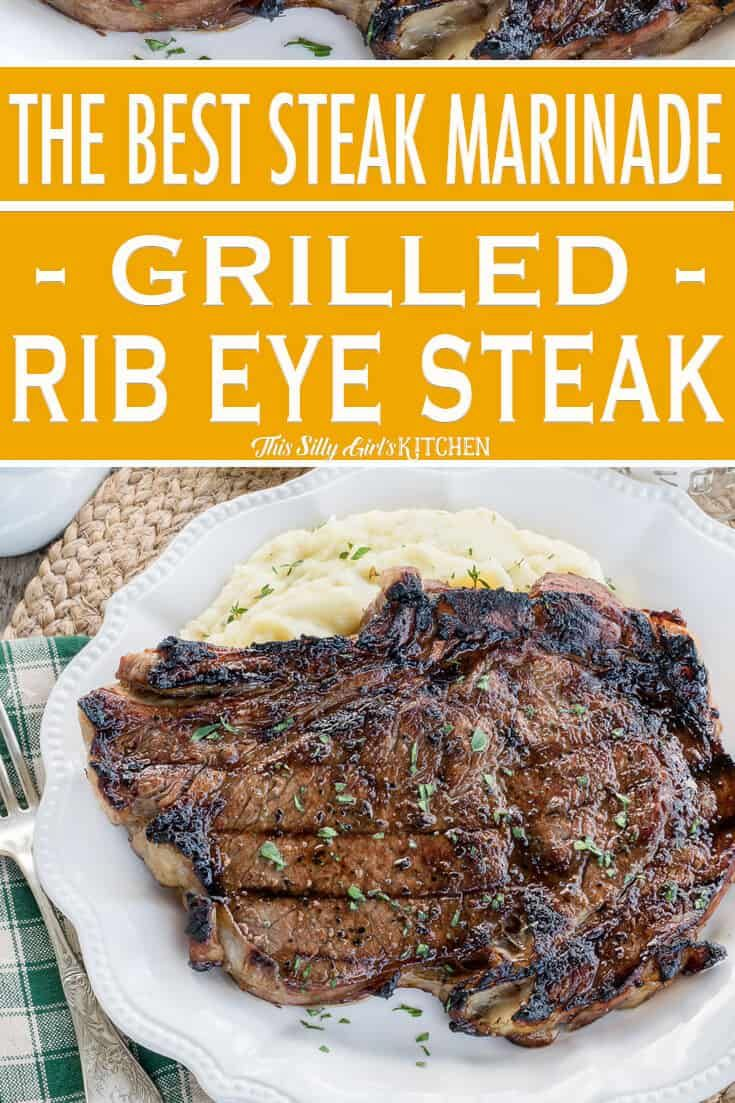 BEST Steak Marinade for Grilled Ribeye Steaks - Works On All Steaks