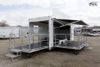 24 Atc Mobile Stage Trailer Proyectos Modelos