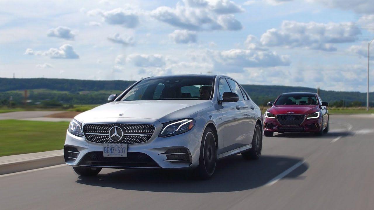 2018 Genesis G80 Sport vs Mercedes E43 AMG Review