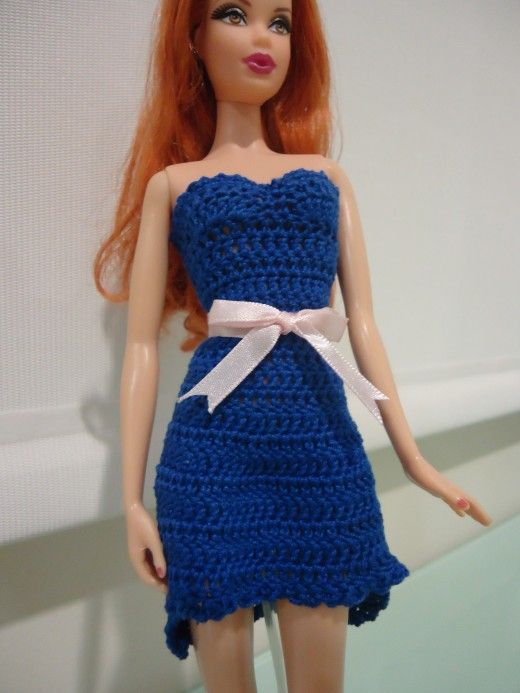 This Hub Is A Free Crochet Pattern For A High Low Cocktail Dress For