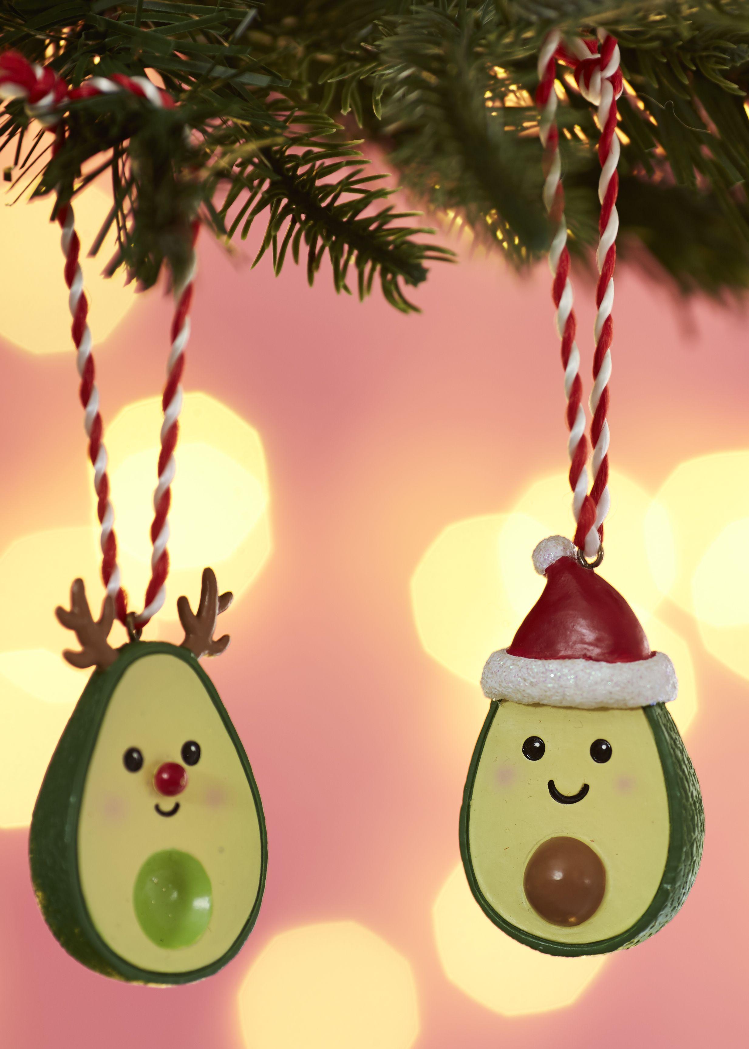 SASS /& BELLE AVO/' MERRY XMAS Christmas Tree decoration ornament Santa Avocado