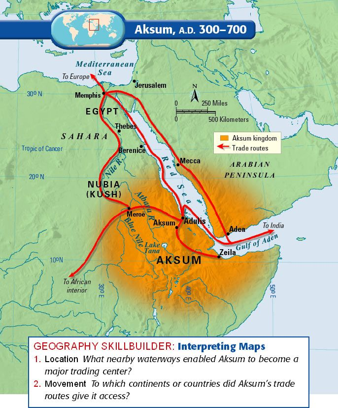 aksum map   Click the links below to access the maps from Unit 2