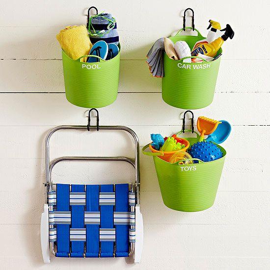 Flexible Garage Wall Storage: Garage Organization