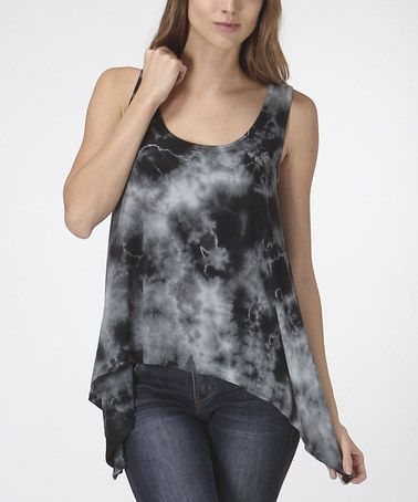 This Navy Storm Open-Back Tank is perfect! #zulilyfinds